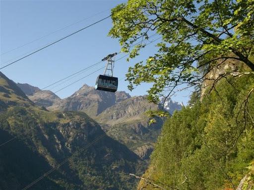 Funivia Chamois Valle d'Aosta