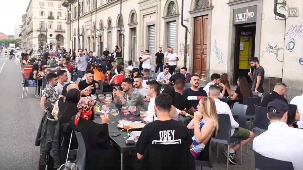 Movida Lungo Po Cadorna, Torino