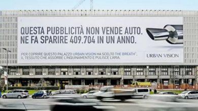 Photo of A Torino arrivano i pannelli pubblicitari che mangiano lo smog: installazioni in centro