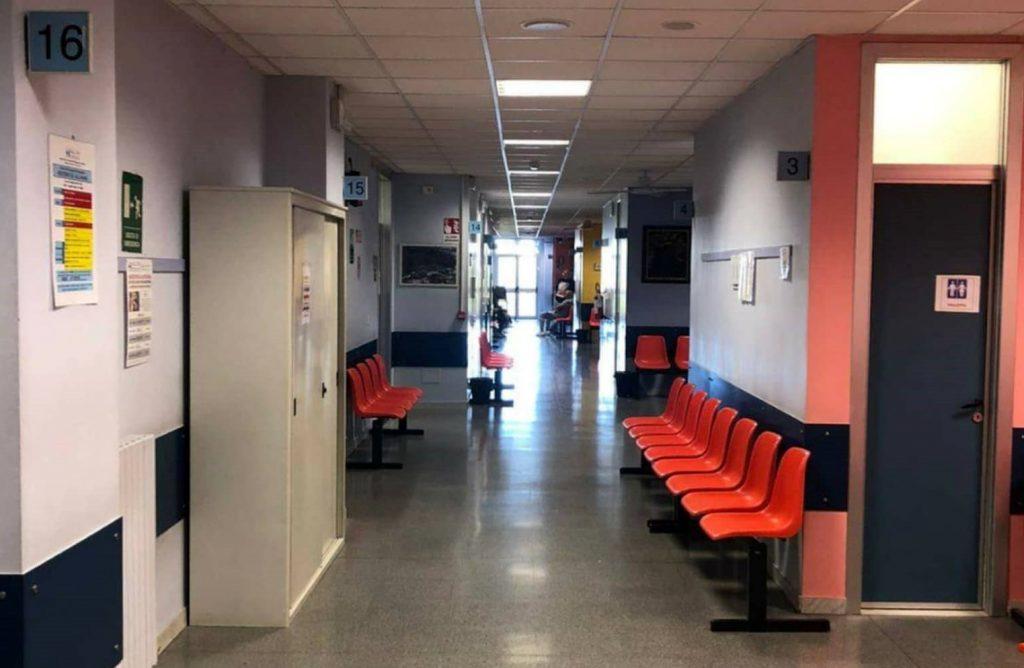 corridoio ospedale Rivoli