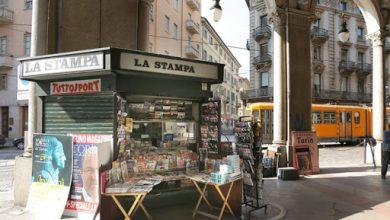 Photo of Torino edicola storica al Comune per un solo euro