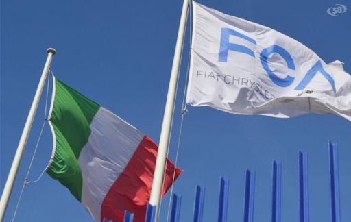bandiere fca e italia