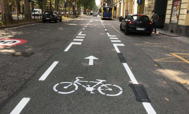 pista ciclabile Torino