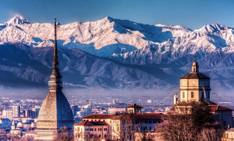 Torino con le Alpi