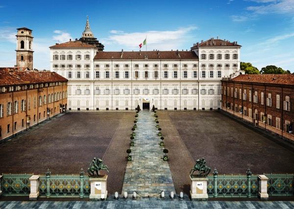 facciata palazzo reale torino