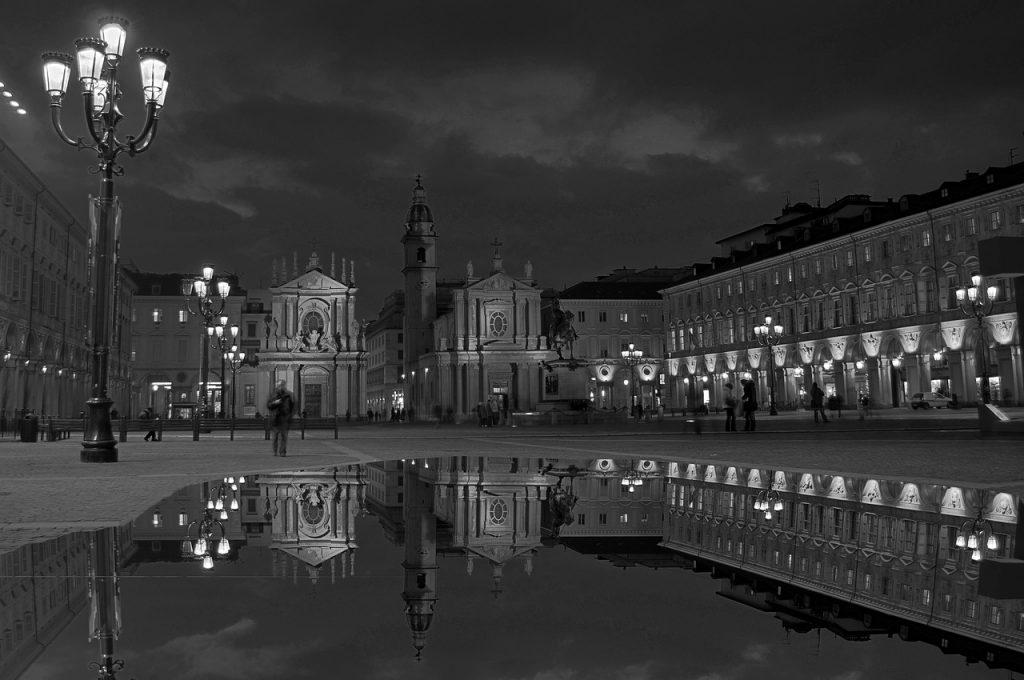 Torino in bianco e nero