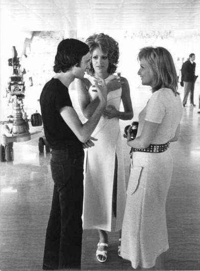 dario-argento-e-catherine-spaak-sul-set