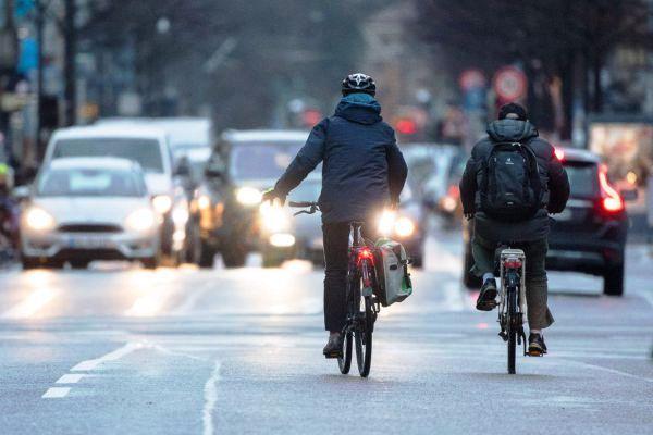 bici in strada