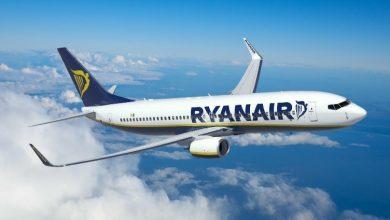 Photo of Nuovi voli Ryanair a Torino: collegamenti con Cagliari e Lamezia Terme