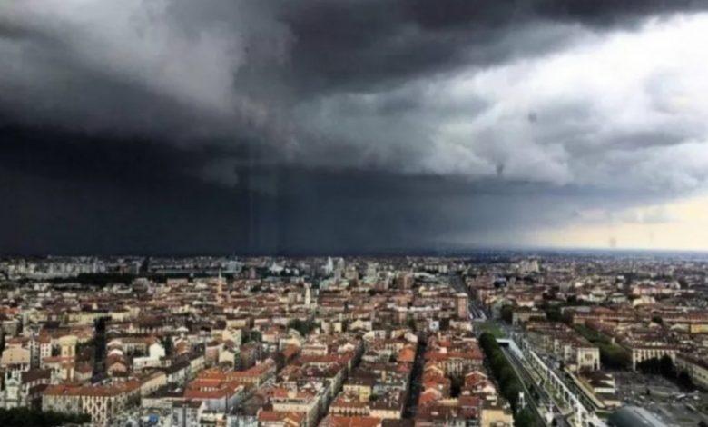 cielo grigio sopra Torino