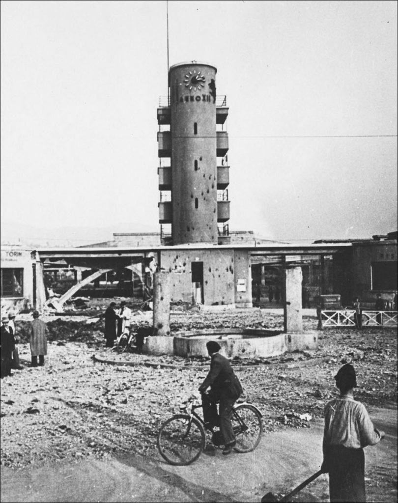 Bombardamento piazza Galimberti Torino