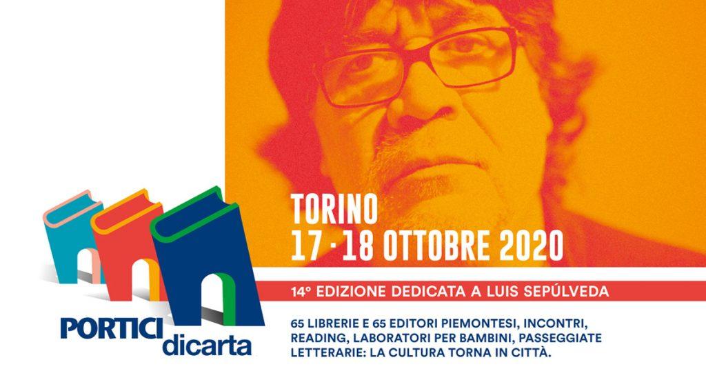 Luis Sepulveda locandina Portici di carta 2020