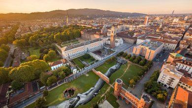 Photo of Land Art arriva a Torino con un dipinto gigante sul prato delle Porte Palatine