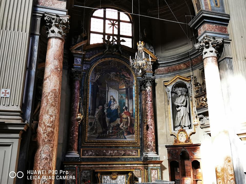 Immacolata Concezione e san Filippo Neri di Conca all'interno della Chiesa di San Filippo Neri a Torino