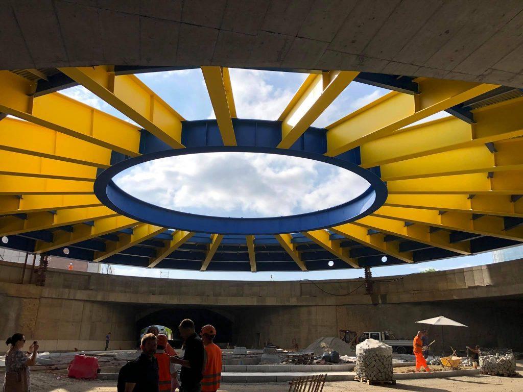 Rotonda sotterranea del Lingotto, introdotto il limite di 30 km/h: presto modifiche alla viabilità