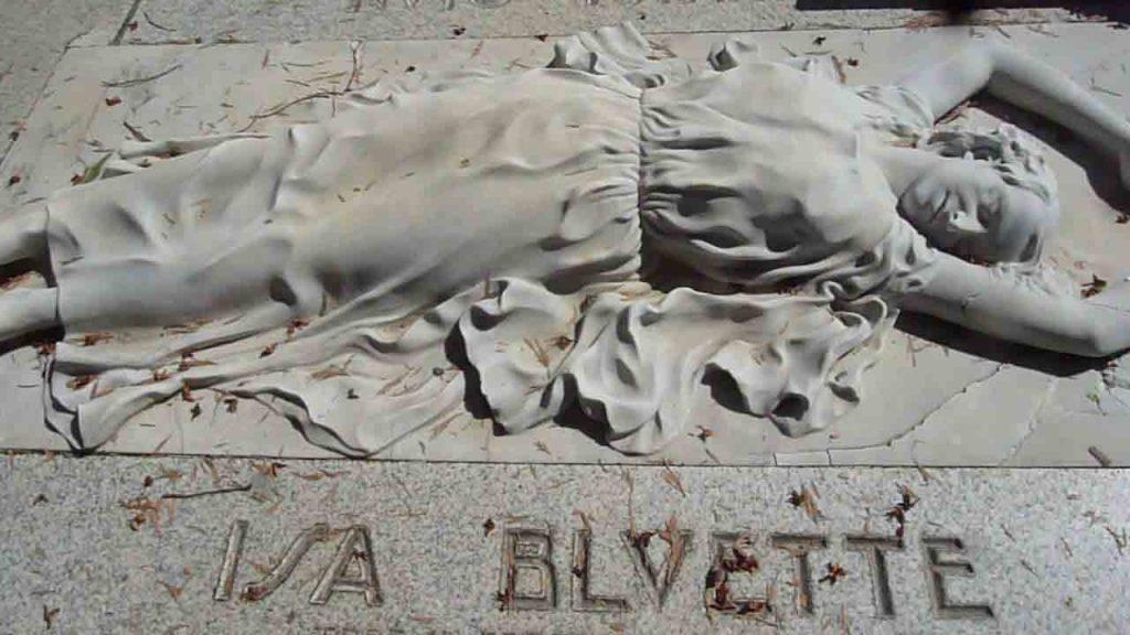 Tomba Cimitero Monumentale Isa Bluette