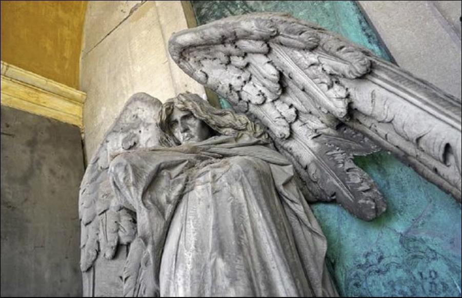 Il Cimitero Monumentale di Torino, tra capolavori e personaggi illustri Angelo della morte