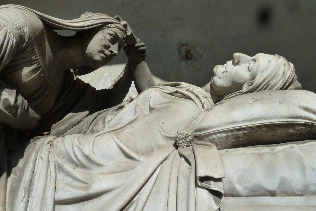 Tomba al Cimitero Monumentale di Torino di Carlotta Marchionni