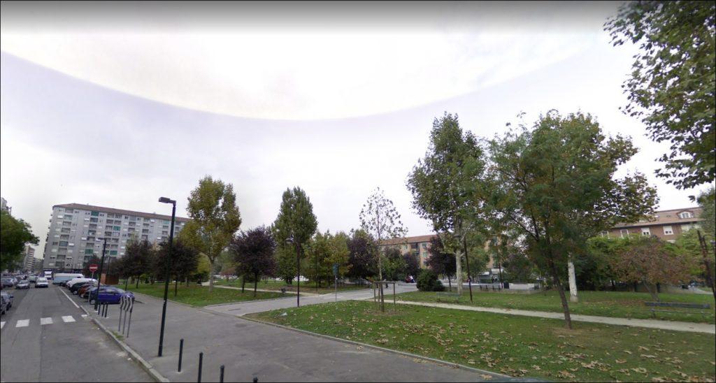 Giardini piazza Galimberti Torino