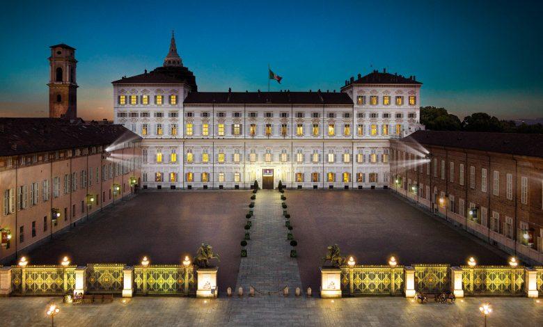 Palazzo Reale di Torino di sera