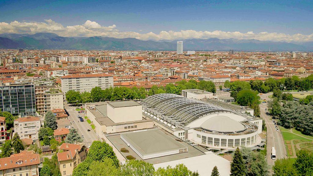 Torino Esposizioni visto dall'alto
