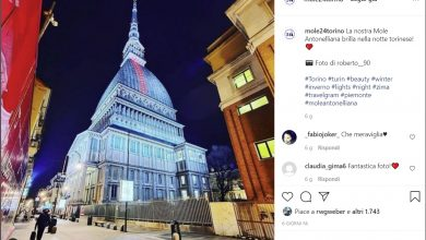 Photo of Torino in gran spolvero su Instagram: centro e zona Sud le zone più immortalate