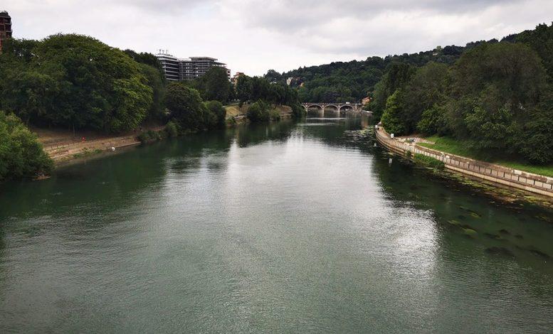 Torino, preoccupa il livello del fiume Po: è troppo basso malgrado le piogge